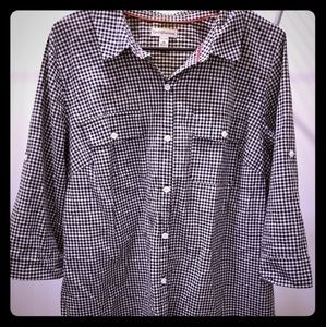 A collared button down shirt sz 1x